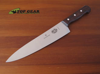 """Victorinox 10"""" Chefs Knife with Rosewood Handle - 5.2000.25"""