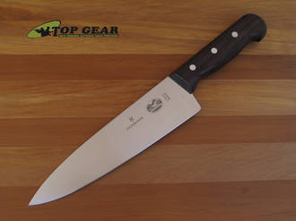 """Victorinox 8"""" Chef's Knife with Rosewood Handle - 5.2060.20"""