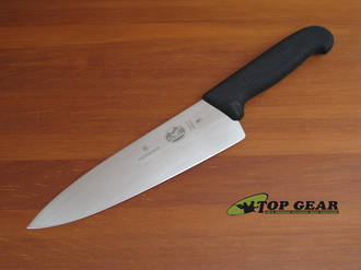 Victorinox Fibrox 8 Inch Chef Knife with Broad Blade - 5.2063.20