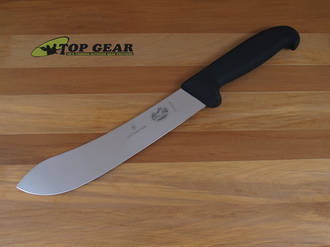 Victorinox Fibrox Butchers Knife with wide Tip, 20 cm - 5.7403.20
