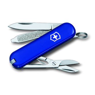 Victorinox Classic SD Swiss Army Keyring Knife, Blue - 0.6223.2