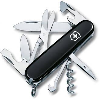 Victorinox Climber Swiss Army Pocket Knife, Black - 1.3703.3