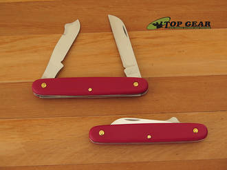 Victorinox Ecoline Grafting and Gardening Knife, Red - 39045