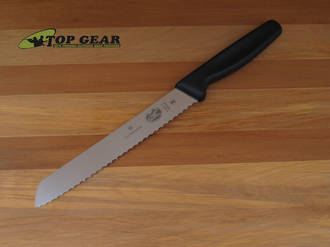 "Victorinox 7"" Bread Knife with black Polypropylene Handle - 5.1633.18"