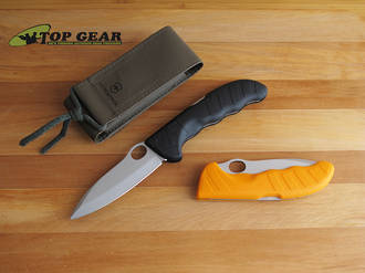 Victorinox HunterPro Folding Hunting Knife - 0.9410.3 Black or 0.9410.9 Orange