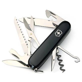 Victorinox Huntsman Swiss Army Pocket Knife, Black - 1.3713.3