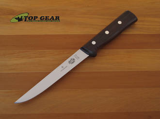 Victorinox Straight Boning Knife with Rosewood Handle - 40010