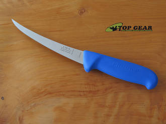 Victory Butcher's Pro-Grip Curved Boning Knife, Blue, 15 cm - 2/720/15/200