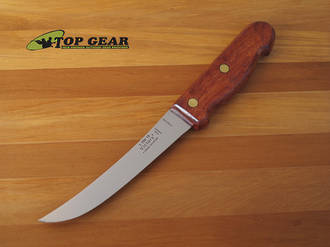 Victory Curved Boning Knife with Wooden Handle, High Carbon Steel - 1/700/15/110