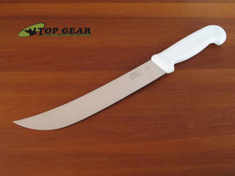 Victory Butcher's Steak Knife, 25 cm, White Handle - 2/500/25/111