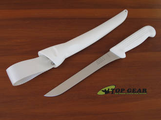 Victory Straight Fish Fillet / Boning Knife with Sheath, 19 cm - 2/710/19/115