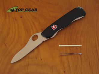 Victorinox One-Handed Sentinel Swiss Army Knife, Fine Edge - 0.8413.M3