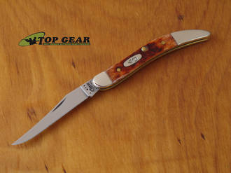 WR Case Tiny Toothpick Pocket Knife with Jigged Bone Handle - 07005