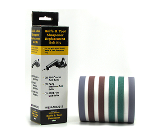 Worksharp Knife And Tool Sharpener Replacement Belt Kit - WSSA0002012