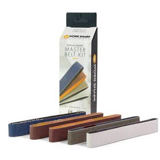 Worksharp Master Belt Kit for Culinary E5 Knife Sharpener, - CPAC008