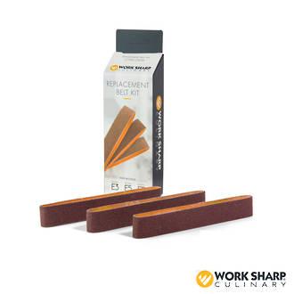 Worksharp Replacement Belt Kit for Culinary E5 - E3 Knife Sharpener, Medium, P120 - CPAC009