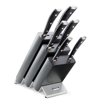 Wusthof Classic Ikon 6 Piece Knife Block Set - 9876