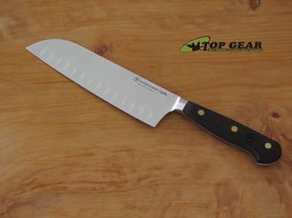 Wusthof Crafter 7 Inch Hollow-Edge Santoku Knife 3783-17