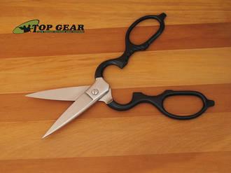 Wusthof Kitchen Shears, Stainless/Black Handle - 5552