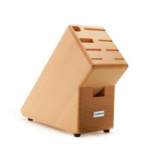 Wusthof Premium Beechwood 9-Piece Knife Block, Empty - 7239