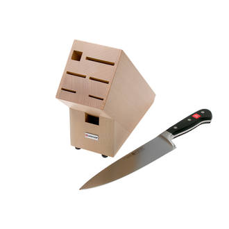 Wusthof Classic 8 Inch Cooks Knife with Knife Block - 9835-99