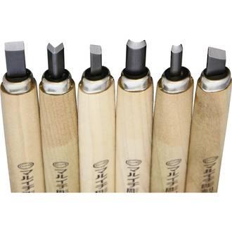Yoshiharu KL-6 6-Piece Carving Tool Set - YSH033