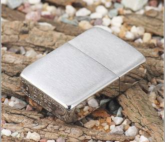Zippo 1941 Replica Vintage Windproof Lighter, 1941 Brushed Chrome
