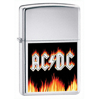 Zippo ACDC Flames Windproof Lighter - 24277