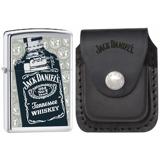 Zippo Jack Daniels Old No. 7 Windproof Lighter Gift Set - 24707 JD