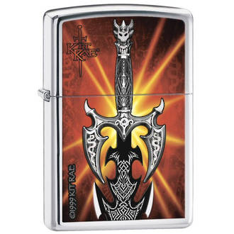 Zippo Kit Rae Kilgorin Sword Windproof Lighter - 24788