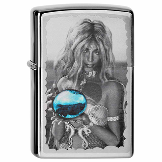 Zippo Mermaid and Orb Windproof Lighter - 28651