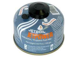 Jetboil Jetpower Self-Sealing Isobutane/Propane Gas Canister 100g - JETPWR-100