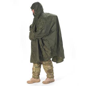 Snugpak Enhanced Patrol Poncho Olive Green 92285 or Black 92286
