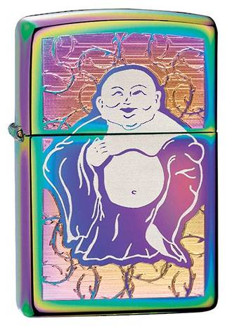 Zippo Buddha Belly Spectrum Windproof Lighter 28480