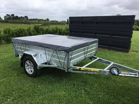 High Sider Single Axle Trailers from