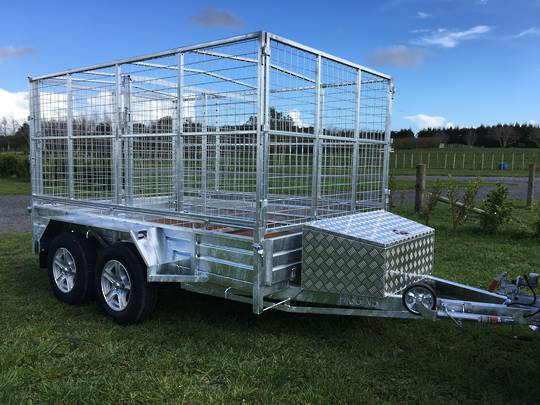 Premium Commercial Tandem Axle Trailers from