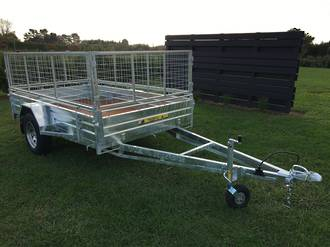 Premium Commercial Single Axle Trailers from