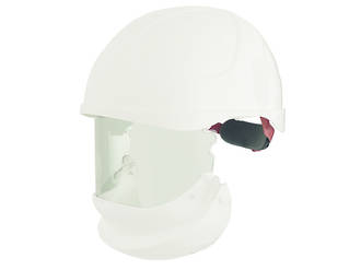 ErgoS Intec Power Helmet with Integrated Face Shield, 14 cal/cm2