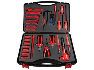 "1/2"" Drive 26 piece 1000V VDE Combination Tool Set"