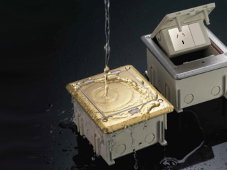 Watertight IP66 Floor Boxes SOB-2/3