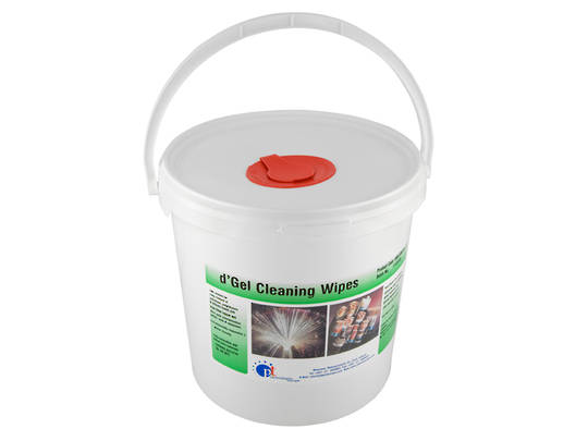 Fibre Optic Solvent Cleaning Wipes