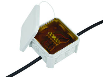 GUROSIL - Gel Filled Junction Box Including Terminal Strip
