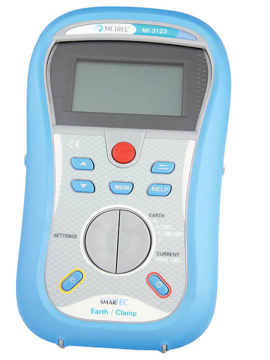 MI3123 Smartec Earth/Clamp Tester