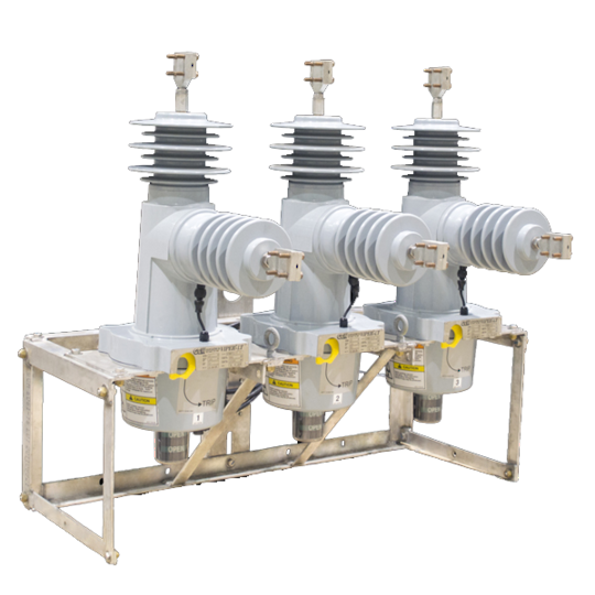 Viper-LT - Solid Dielectric Triple Option Recloser, Up To 27kV