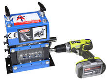 ATS-5 Benchtop Mini Cable Stripping Machine, 15mm OD