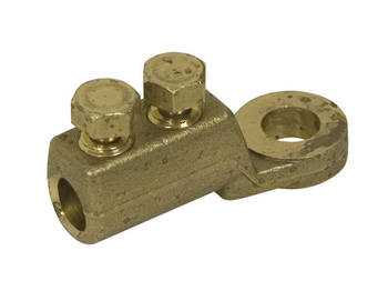 Brass End Termination Heavy Duty Brass Shearbolt Lug