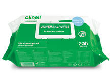Clinell Cleaning & Disinfecting Wipes