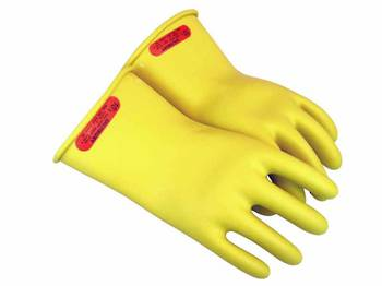 Class 0 Rubber Insulating Gloves - Up To 1000V