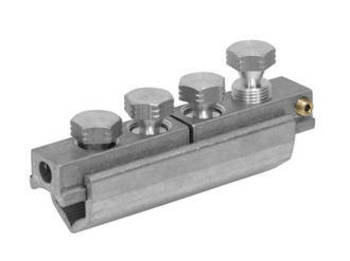 Universal Straight Connector with Double Service Takeoff up to 1kV