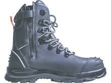 Bison XT Zip Lace Up Safety Boot